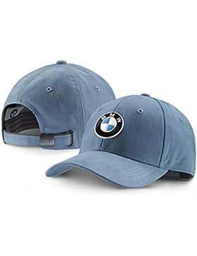 Gorra 80162411102 ajustable con visera y logo de BMW, gorra oficial de colección