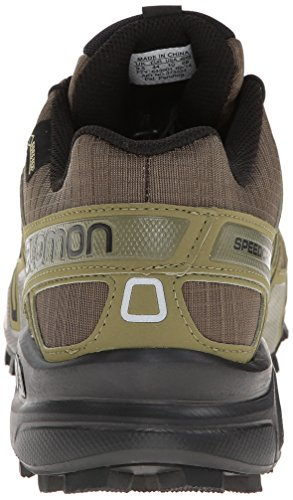 Salomon Speedcross 3 GTX, Scarpe sportive, Uomo Dark Khaki/Black/Gr
