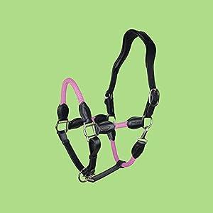 indira Seil-Leder-Halfter pro PP-Strick-Echtleder