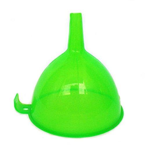 Nopea Trichter Einfülltrichter Fülltrichter Einfüllhilfe Öltrichter Flüssigkeitstrichter Küche Regenbogenfarben Trichter Stück Kochtrichter Trichter für Küche Grün