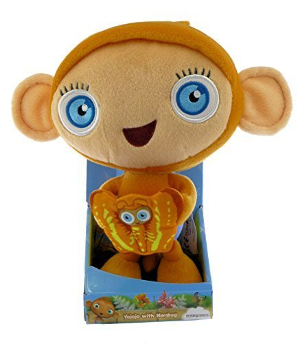 Waybuloo Gift Quality 8 inch 20cm Yojojo with Narabug Soft Plush Toy Boxed
