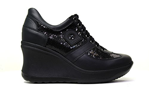 Agile by Rucoline 1800 A DIPSY MATISSE NERO, SNEAKER DONNA (37)