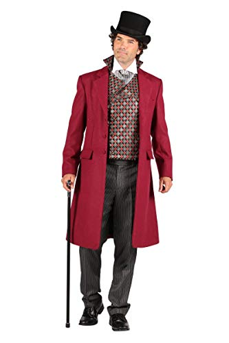 Thetru Herren Kostüm Biedermeier Gentleman Anzug Karneval Fasching Gr.S
