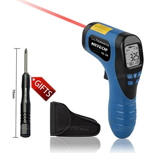 Preisvergleich Produktbild nktech nk-200Infrarot-Thermometer Temperatur Gun Küche Geschenke Digital Laser IR Guns Messen-50& # x2103; bis zur 750& # x2103; oder-58bis 1382°F LCD Hintergrundbeleuchtung Farbe Messung Meter