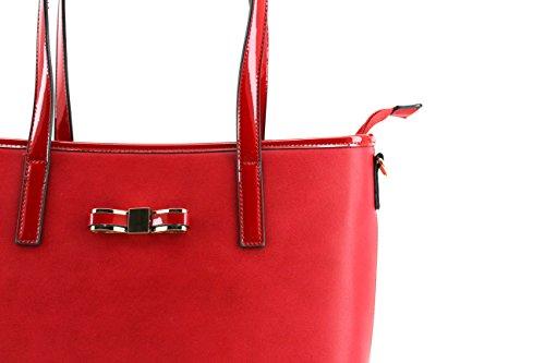Modelisa, Borsa tote donna Rosso