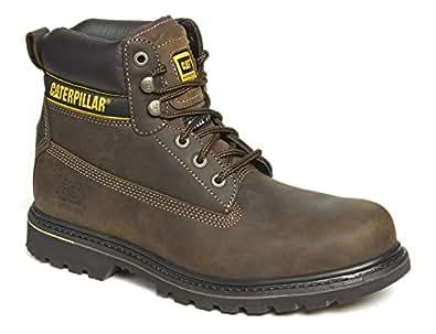 Briggs Chaussure de sécurité Caterpillar Holton (,,, Size 12, marron, 1