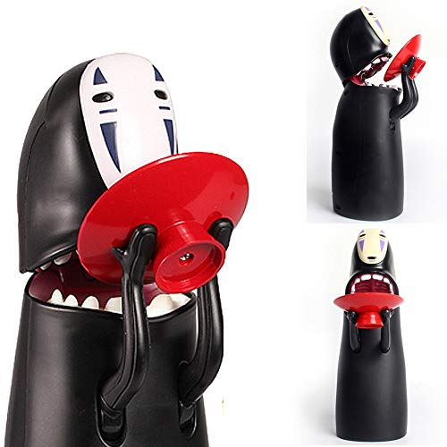 Coin Bank Spirited Away No-Face Man Musik Spardose Figur Geschenk -