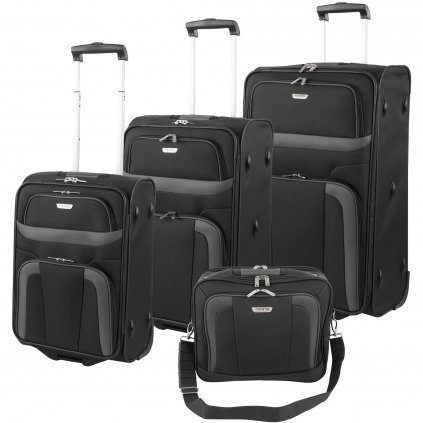 Travelite  Koffer-Set 82759 Schwarz 80.0 liters