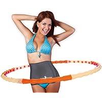 Hoopomania Magnetic Hoop - Hula hoop con 48 imanes - 1,2 kg.