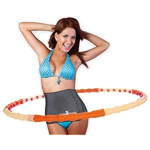 Hoopomania® Magnetic Hoop, Hula Hoop mit 48 Magneten 1.2kg
