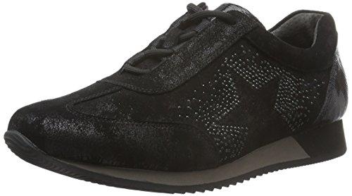 Gabor Comfort Basic, Baskets Femme Noir (Schwarz 97)
