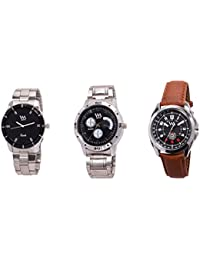 Watch Me Gift Combo Set Of Analog Watches For Men And Boys AWC-010-AWC-011-AWC-012 AWC-010-AWC-011-AWC-012omtbg
