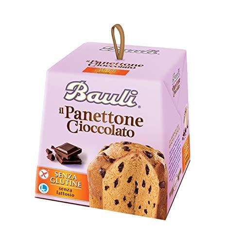 Mini panettone al cioccolato bauli 100 gr gocce senza glutine e senza lattosio