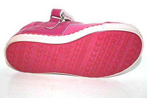 Mädchen 317 Karton Pink ohne 24 Ballerinas Kinder Schuhe Pink Sport 4kids Cherie qBwXUX