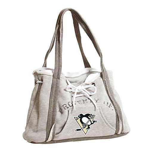 Pro NHL Hoodie Geldbörse, Damen, 550404-PENS-GREY, Pittsburgh Penguins, Gray