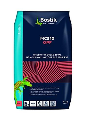 413RqD2CfFL - NO.1 GARDEN Bostik OPF White Flexible Tile Adhesive 20kg Best price Review