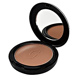 GlamGals 3 in 1 Three Way Cake Compact Makeup+ Foundation + Concealer SPF 15,14.5 g (Burnt Amber)