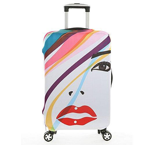 Cover Proteggi Valigia ,HomDSim Copri Valigia Anti-Polvere Copertura Per Valigia Elastico Tessuto proteggi valigie per 18-32 pollici caso valigia (non includono bagagli)
