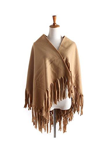 Sciarpa Sciarpa XXXL Oversized rettangolare patchwork autunno inverno donna coperta Poncho sciarpa morbido caldo a quadri turchese XXXL