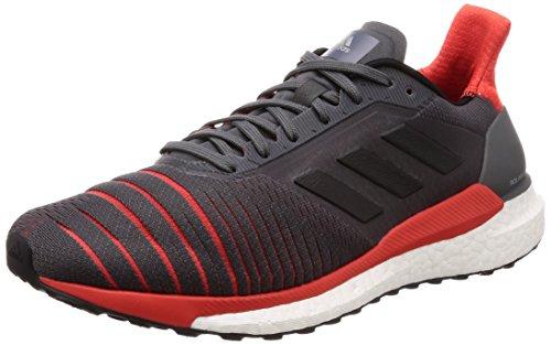 adidas Solar Glide M, Zapatillas de Running para Hombre, Gris (Gricin/Negbás/Roalre 0), 44 2/3 EU