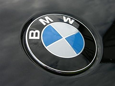 BMW-Dunwoth SK-34 Emblem Heckklappe, Blau und Weiß