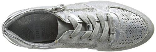 Dockers by Gerli Damen 42da203-680550 Sneaker Braun (Silber 550)