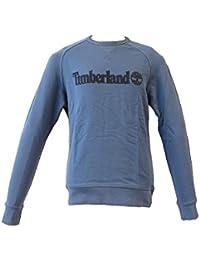 Timberland Ca1lsw, Sweatshit à Capuche Sportswear Homme, Gris