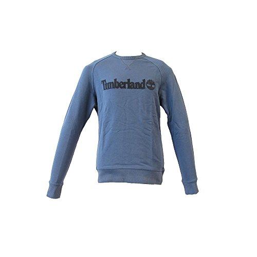 Timberland Herren Sport Kapuzenpullover Ca1lsw, Grau Blau
