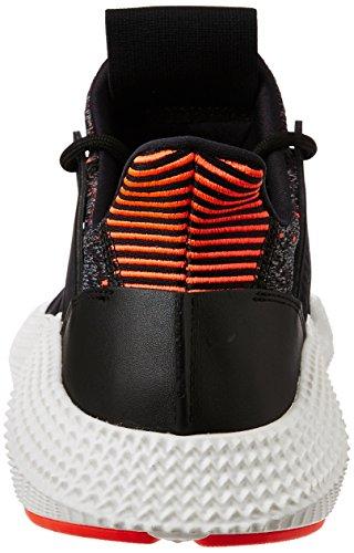 adidas Prophere, Scarpe da Ginnastica Basse Uomo nero rosso