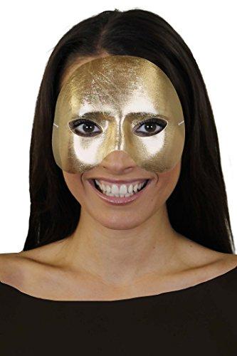 Kostüm Fancy Oper Phantom Dress Der - ILOVEFANCYDRESS Phantom HALB Gesichtsmaske TOLL FÜR Fasching ODER Masken Ball OPER Maske=1 GOLDENE Maske