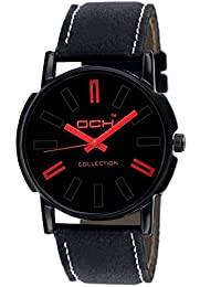 DCH Excuslive Analogue Black Dial Wrist Watch For Men/ Boys(IN-20)