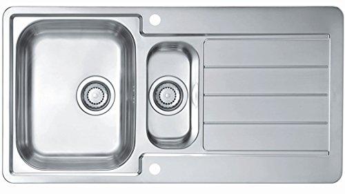 Alveus Line max 10 Edelstahl Einbau Küchenspüle 980 x 500 mm Spülbecken *1085943
