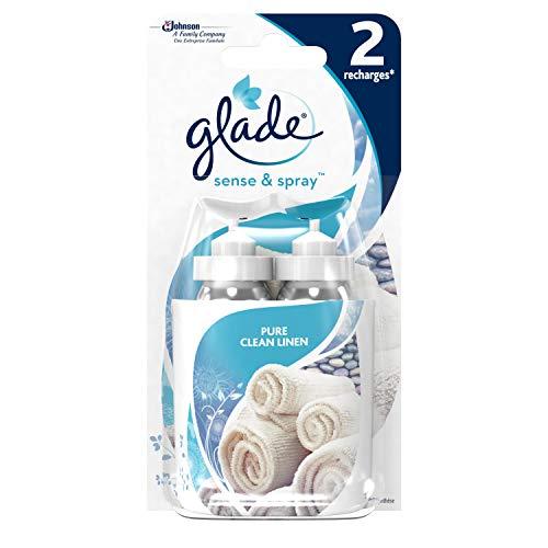 Glade Sense & Spray Recharges Pure Clean Linen 2 x 18 ml