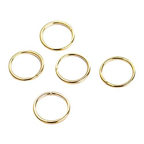 CANDLLY Haarspange Damen, Mode Damen Hip-Hop Braid Handkreuz Shell Stern Ring Haarspangen Zubehör 5 STÜCK Kopfschmuck Zubehör
