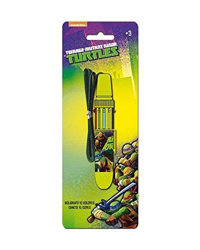 NINJA TURTLES Schildkröten Stiftfarben 10 (Schildkröten Ninjas)