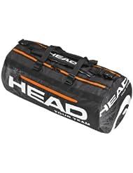 Head team sac de tennis tour duffle 93 litres-noir - 76 x 35 x 35 cm - 283613