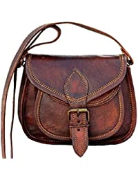 "9"" Leather Cross Body Bags Leather Sling Bag For Women Purse For Znt Bags - B0795TWFJ2"