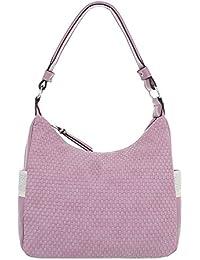 7bc095bcbbf7c Ital-Design Damentasche Mittelgroße Schultertasche Handtasche Kunstleder  TA-8635-188
