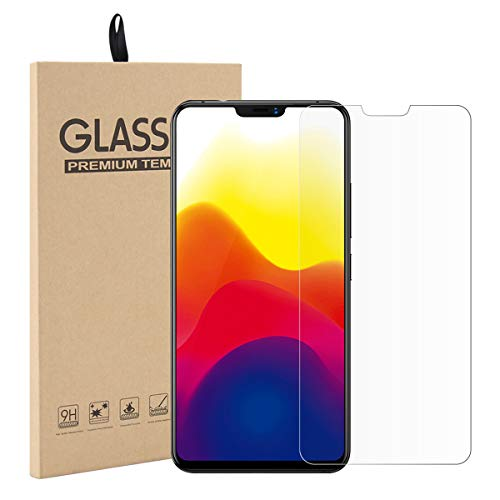 adorehouse Vivo X21 Screen Protector, Tempered Glass Film, Ultra-Clear Anti-Scratch Anti-Smudge Fingerprint Resistant Case Glass Screen Protector - 1 Pack