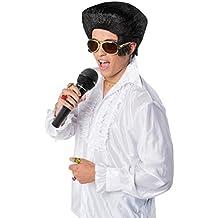 Creative Estilo de Elvis Disfraz Peluca