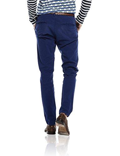 Scotch & Soda 16010180060 - Pantalon - Chino - Homme Bleu - Bleu cobalt (37)