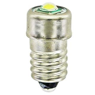 AccuCell Neu LED Ersatzbirnchen 3 Volt mit Schraubverschlus E10, LED-Birnchen 3V/0,33A 1W E10, B1
