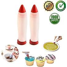 Bolígrafo de silicona para repostería de pasteles, chocolate, galletas, pasteles, chocolate,
