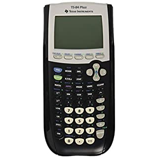 Texas Instruments TI84PLUS - Graphing Calculator USB technology-Blue/Silver