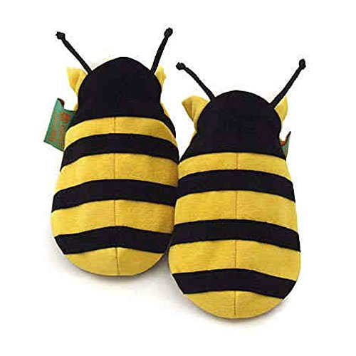 Funky Feet - Babyschuhe - Biene - Größe 6-12 Monate (Aber Die Bienen Baby)