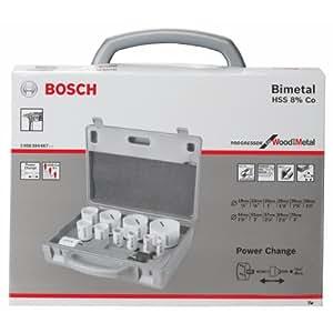 Bosch 2608584667 coffret scie cloche 14 pi ces 19 22 25 - Coffret scie cloche ...