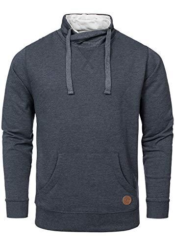 !Solid Herren Sweater | Alton Sweatshirt | Longsleeve | Pullover (L, Insignia Blue)