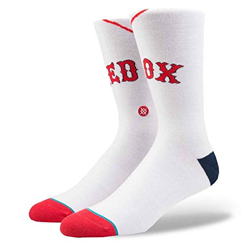 Stance Boston Red Sox Home Jersey MLB Socken Weiß, L