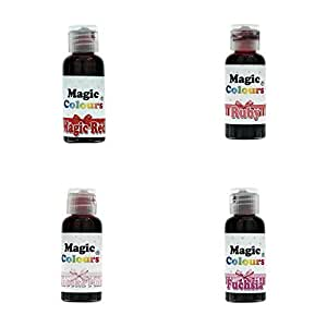 Magic Colours Pro Shades of Pinks to Reds