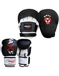 Max5 Boxing Gloves Focus Pads Set Sparring Training Boxing Punch Hook Jabs